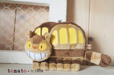 ˙TOMATO生活雜鋪˙日本進口雜貨宮崎駿 龍貓公車造型彈性悠遊卡夾零錢包鑰匙圈