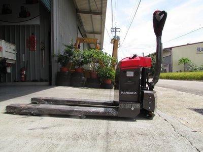 【大自然堆高機】HANGCHA1.5噸.電動拖板車