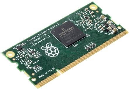【莓亞科技】全新樹莓派運算模組3簡易型插卡(Compute Module 3 Lite)(含稅現貨NT$988)