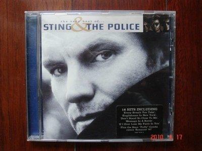 The Very Best of STING & The POLICE【史汀與警察合唱團精選輯】《進口版二手CD》