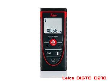 TECPEL 泰菱》Leica DISTO D210 80米 80M 公司貨 含稅 萊卡 徠卡 測距儀