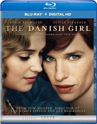 【藍光電影】BD50 丹麥女孩 The Danish Girl 88-018