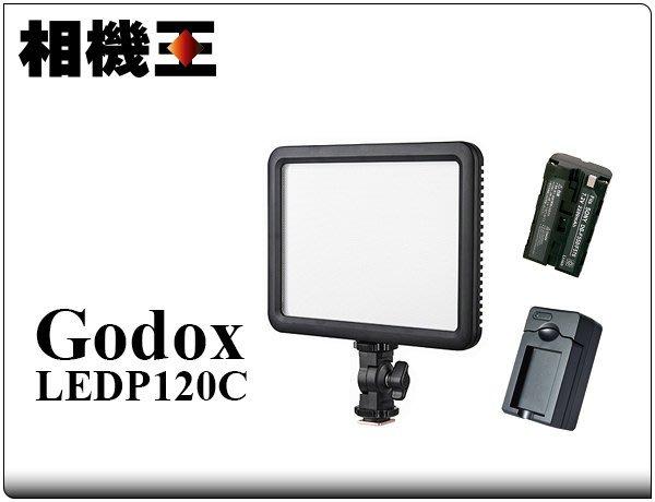 ☆相機王☆Godox LEDP 120C 平板型攝影燈 套組〔含電池、充電器〕#11673 #10366 #10382