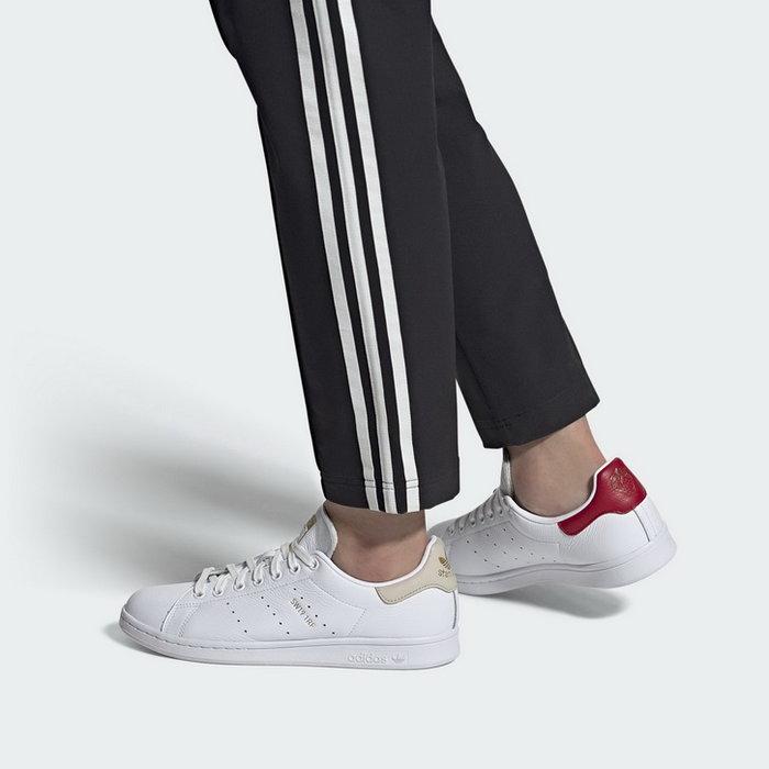 【Dr.Shoes 】Adidas Originals Stan Smith 女鞋 經典鞋 小白鞋 草莓 FY9202
