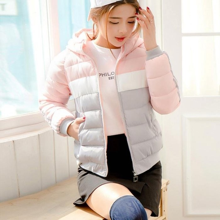 chic棉服女短款韓版寬鬆ins羽絨服冬2019新款加厚學生小棉襖外套