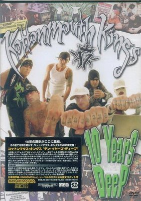 K - KOTTONMOUTH KINGS - 10 Years Deep - 日版 DVD - NEW