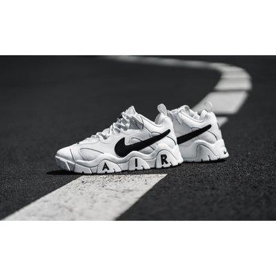 現貨Nike Air Barrage Low 白黑 復古鞋 CW3130-100