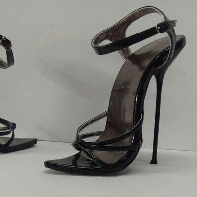 大碼 50碼 48碼 52碼 訂製 16cm 金属鋼跟 模特走秀 性感誘惑涼鞋