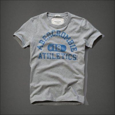 【全新真品 現貨】Abercrombie & Fitch T恤 Hough Peak Tee(灰色) S號 A&F AF