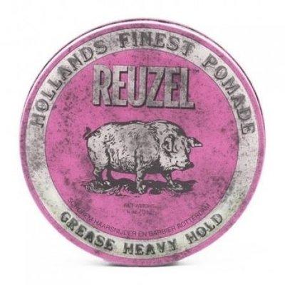 便宜生活館【造型品】REUZEL 粉紅豬油 油性髮油 水洗式油性髮油4oz (113g) 另有紅豬/藍豬 (可超取)