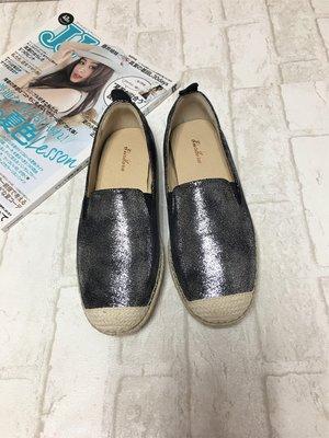 現貨出清~台灣手工製 日本進口素材休閒鞋–黑色 6597-9   米蘭風情