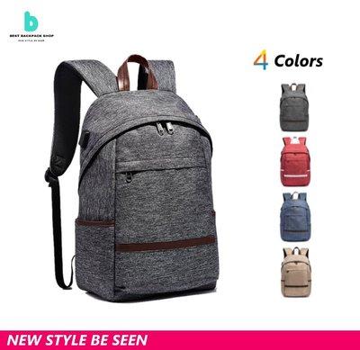 【現貨供應】潮流 後背包 充電 背包 防盜 學生 筆電包 雙肩包 書包 防水 流行 時尚 男生 女生 筆電包 書包 出國