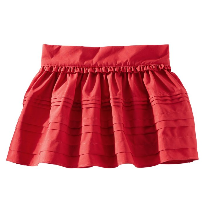 【Nichole's歐美進口優質童裝】OshKosh 女童紅色可愛小短裙+安全褲 *Carter's/Old Navy