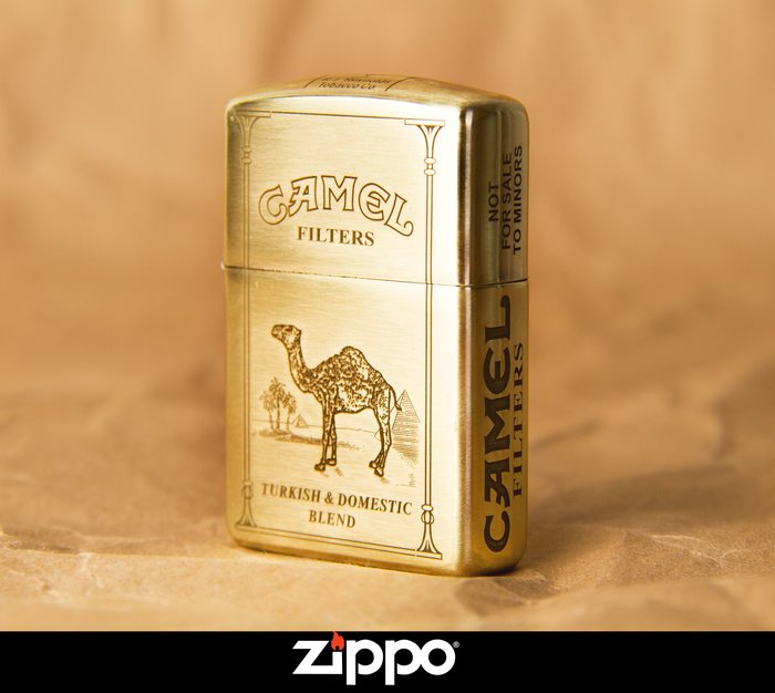 Zippo 打火機 Camel 駱駝 煤油 防風 黃銅 五面加工 菸友必備 經典小物 美國原廠機身 經典復刻版