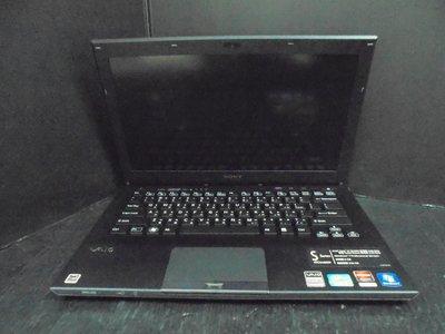 筆電零件機 SONY PCG-41219P CPU i7-2640M (不過電不開機)