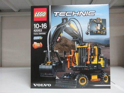 LEGO 42053 樂高積木玩具 沃爾沃 EW 160E 氣動挖掘機