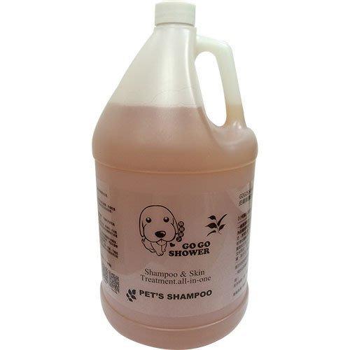 【GOGOSHOWER狗狗笑了】皮膚防護系列-燕麥保濕專業沐浴乳_1加侖