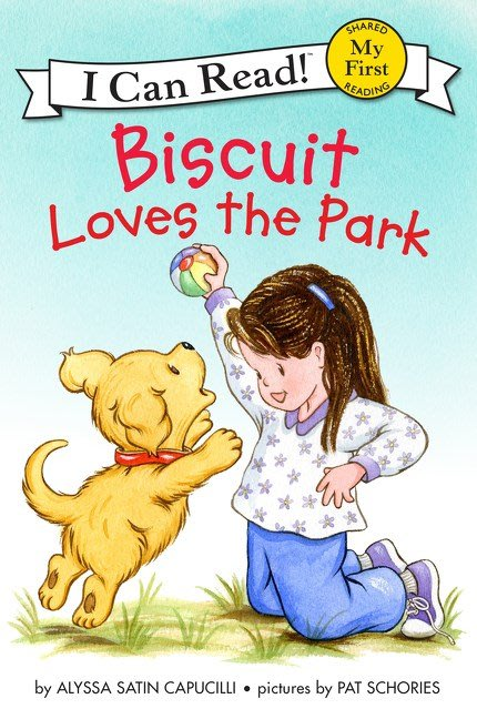 *小貝比的家*BISCUIT LOVES THE PARK/ MY FIRST/平裝/3~6歲