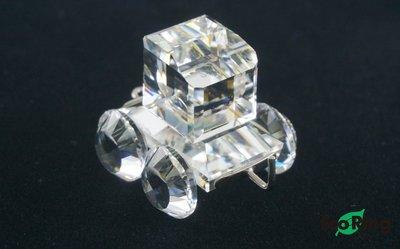 [Eco Ring HK]*Swarovski Mini Train Cart/Crystal/Box*Rank B -197024823-