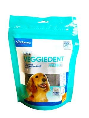 植物性潔齒嚼片S號 單包$165 Virbac 新強效維克 C.E.T 15入小型犬用 潔牙 口腔清潔 公司貨附發票