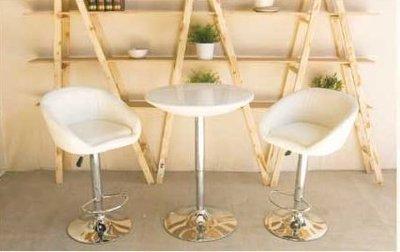【南洋風休閒傢俱】吧台桌椅組-   2110吧台桌+英倫皮吧台椅 升降桌椅組 造型桌椅組(112-5)