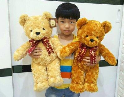 娃娃夢幻樂園~超可愛泰迪熊娃娃~高46公分~毛質超柔軟~玫瑰熊玩偶~生日情人節禮物~高雄可自取