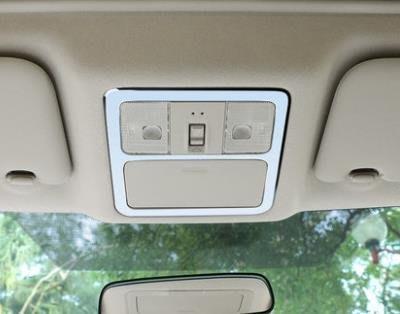 直購-專用於16新TIIDA閱讀燈飾框12款18 Nissan SENTRA車頂燈邊框燈罩改裝