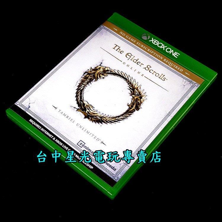 【Xbox One原版片】☆ 上古卷軸 Online 無限泰姆瑞爾 ☆【英文亞版 中古二手商品】台中星光電玩