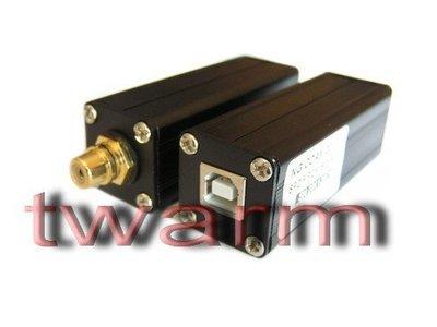 德源科技 r)USB轉同軸成品 鎖相環SPDIF信號HA INFO NG COAX(USB轉同軸USB TO SPDIF