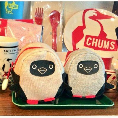 小阿姨shop CHUMS 日本 Sweat Booby 造型收納包(小) Booby CH602406Z051