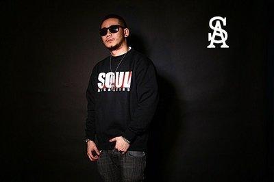 Cover Taiwan 官方直營 SOUL ASSASSINS Box 西海岸 嘻哈 大學T 圓領長T 刷毛 黑白紅
