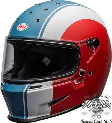 ♛大鬍子俱樂部♛ Bell ® Eliminator Slayer 美國 原裝 美國隊長 漫威配色 全罩 安全帽