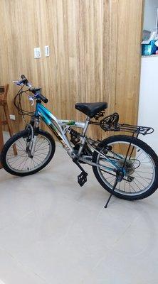二手 20 吋 SHIN LUN 6段變速 兒童腳踏車(身高110-140cm)