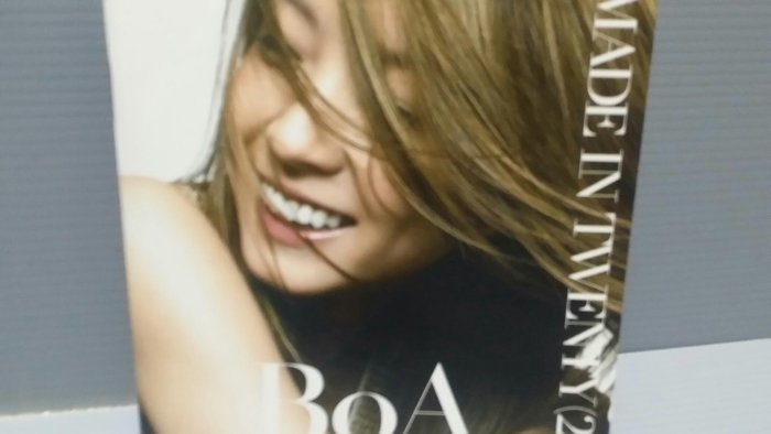 BoA MADE IN TWENTY (20) 萊恩音悅 寶兒 CD + DVD片如新 歌詞如新 韓國人氣女歌手