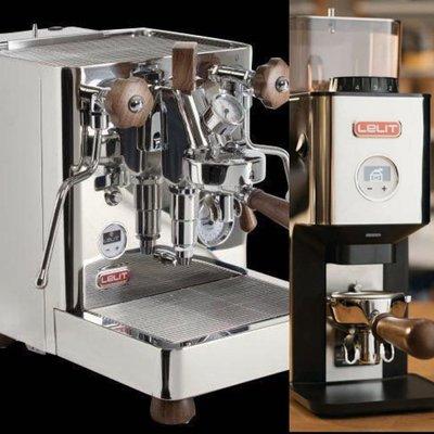 LELIT PL162T義式咖啡機+Lelit William – PL72義式定量磨豆機優惠組合 原價101500