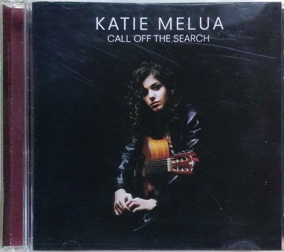 《絕版專賣》Katie Melua 凱蒂瑪露 / Call Off The Search 停止飄泊 (美版)