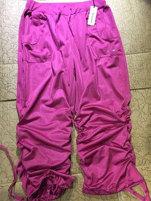 [變身館日本服飾] ~Converse~七分褲~彈性~運動~休閒~束口~鬆緊帶腰圍~日本購入~全新現品~M~出清價