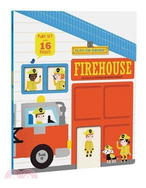Firehouse: Play-Go-Round (Play Set with 16 Pieces!)