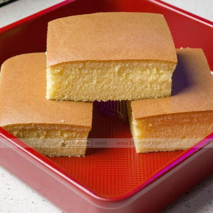 Amy烘焙網:BREADLEAF正方形古早蛋糕模加深烤盤/布丁水浴法深烤盤