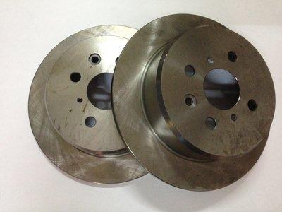 【李記車材】全新TOYOTA COROLLA & CORONA專用後碟盤~四孔100 尺寸269mm*10mm