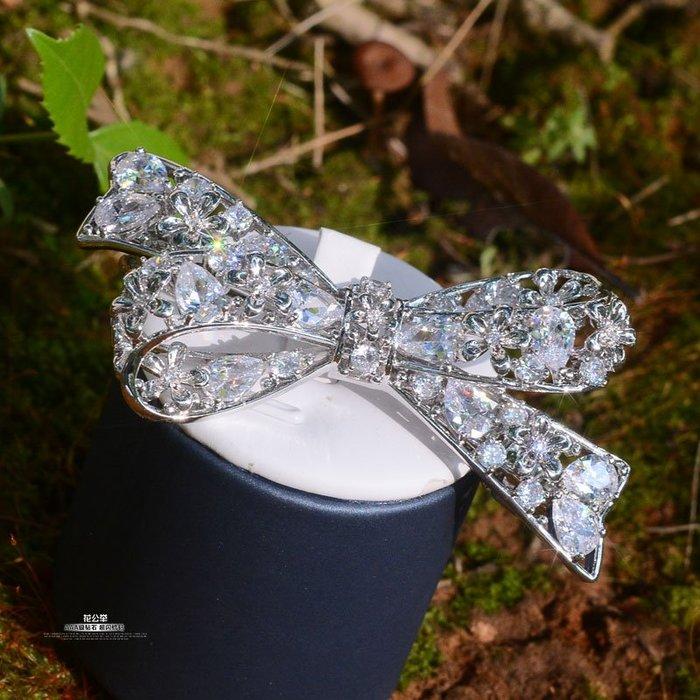 Lissom韓國代購~歐美蝴蝶結髮夾頭飾彈簧夾馬尾夾ins少女心邊夾側夾頂夾聚會飾品