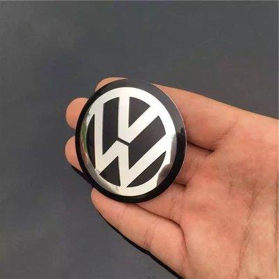 原廠 VW福斯車系鋁圈蓋輪圈  中心 貼紙GOLF5 6代 TIGUAN PASST SCIROCCO mk2  mk3 mk4 gti jetta b3 b4