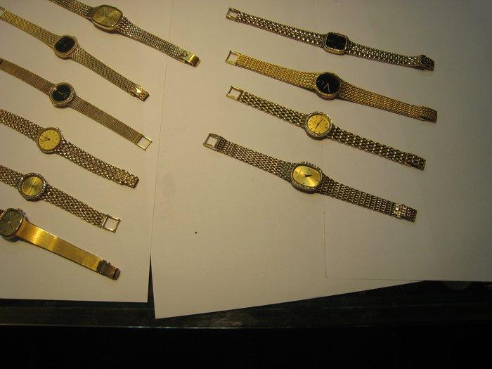 女18K金錶~~難得糊塗 ~賣同行18K金(750) 你比較高就賣給你