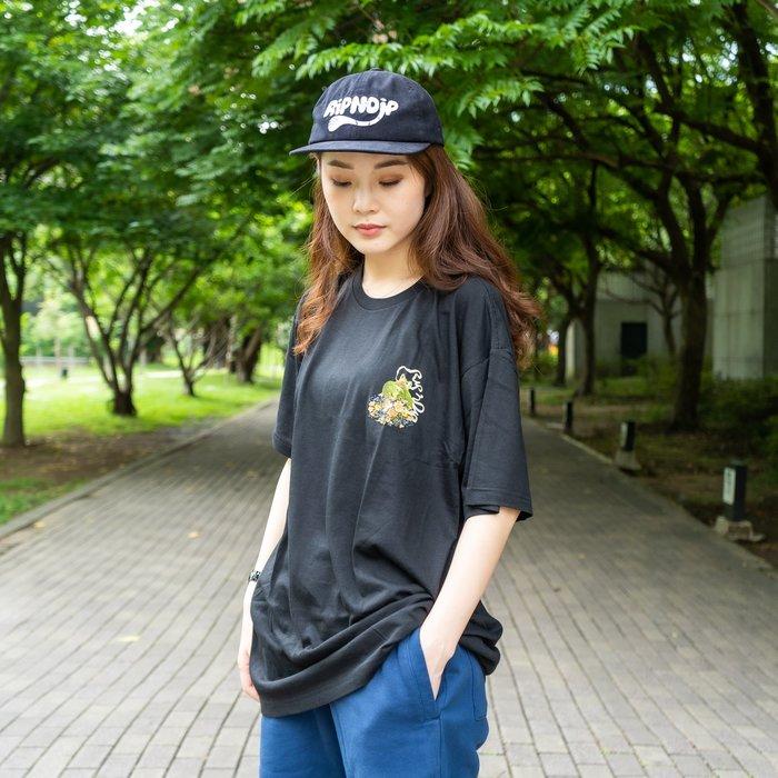 【A-KAY0】RIPNDIP 男女 FLOWER BURST TEE 短T 黑【RND3288BLAC】