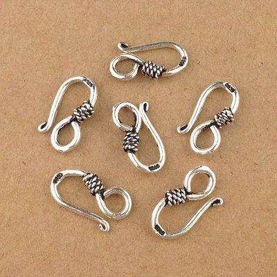 「還願佛牌」925 純銀 配件 S扣 項鍊 手鍊 接扣 接頭 銀扣 搭配 DIY