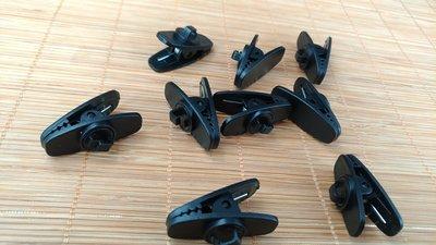 「Cecile音樂坊」耳機週邊、耳機線夾 A款 夾子、 線夾 「黑」