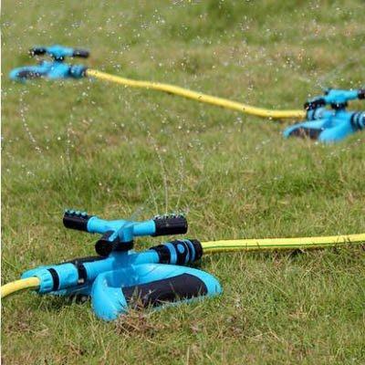 【單旋轉噴頭+接頭一套-KN247-1套/組】4分雙通多串聯園藝園林草坪農用自動灑水器-5170855