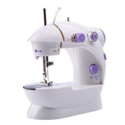 YEAHSHOP 縫紉機家用電動全自動小型縫紉機迷你臺式手動吃厚縫紉機202.736308Y185
