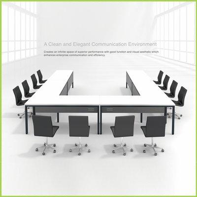【OA批發工廠】IMMENSE 系統會議桌 口字腳桌 環式會議桌 大型會議桌 簡約現代設計 客製品需先詢價
