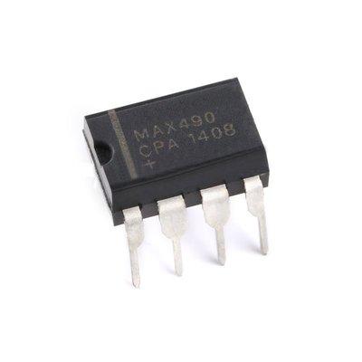 直插 MAX490 晶片 RS422/ RS485收發器 2.5MBPS 5.25V DIP-8 W2 [63313] 新北市